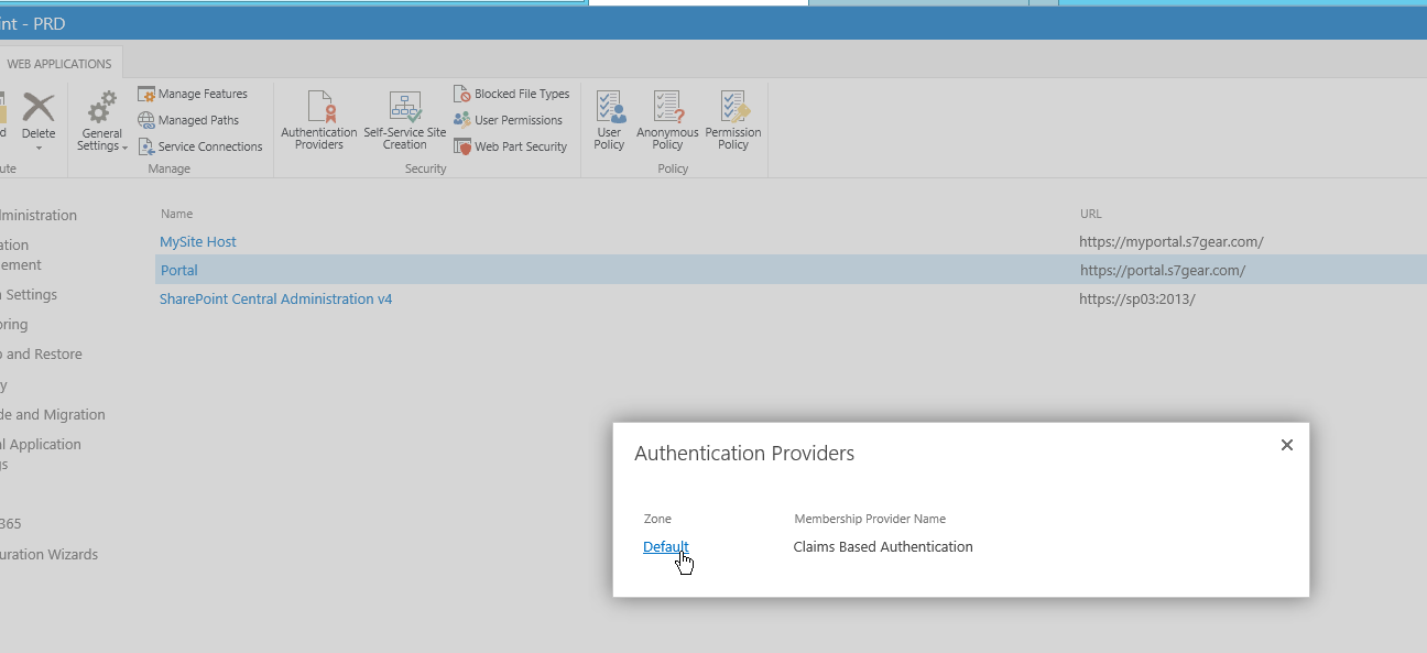 Beginners Guide to Claims-based Authentication, AD FS 3.0, and SharePoint 2013 – Part III: Configuring SharePoint 2013 for AD FS