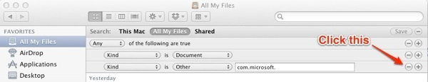 Microsoft Documents Mac All My Files