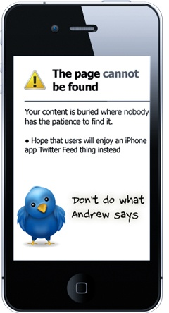 The Page Cannot Be Found IA image