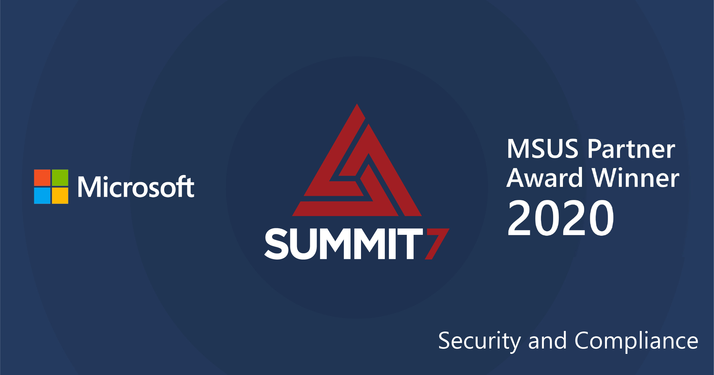 Microsoft US Partner Award - Modern Workplace - Security and Compliance