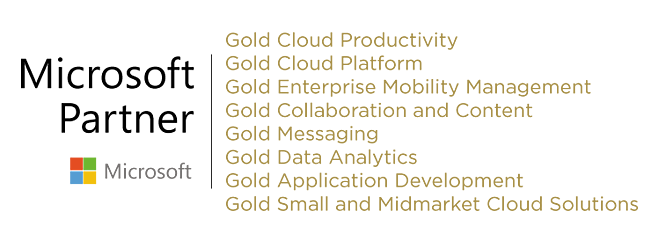 Microsoft Gold Competencies