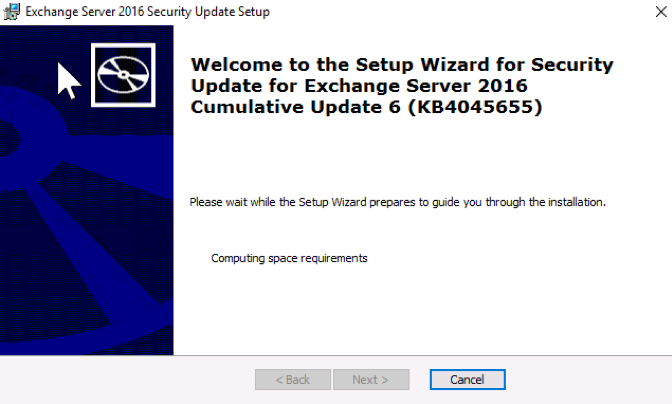 Exchange Services Not Starting? Windows Security Update