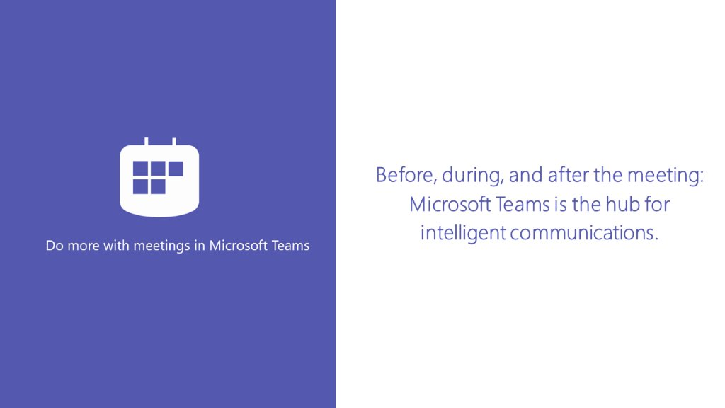 Microsoft Teams hub for intelligent communications