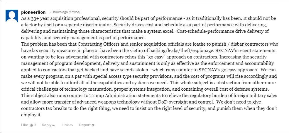 DFARS Comes Down to Enforcement