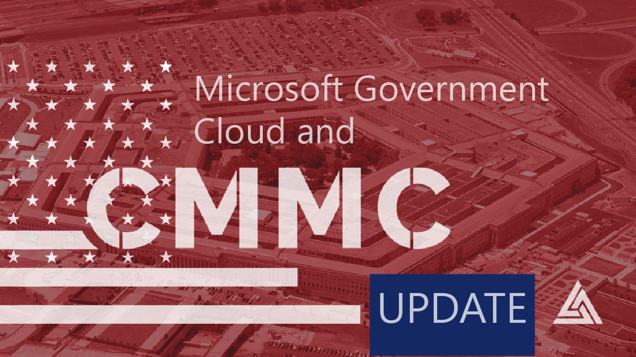 CMMC Q3 2020 Update