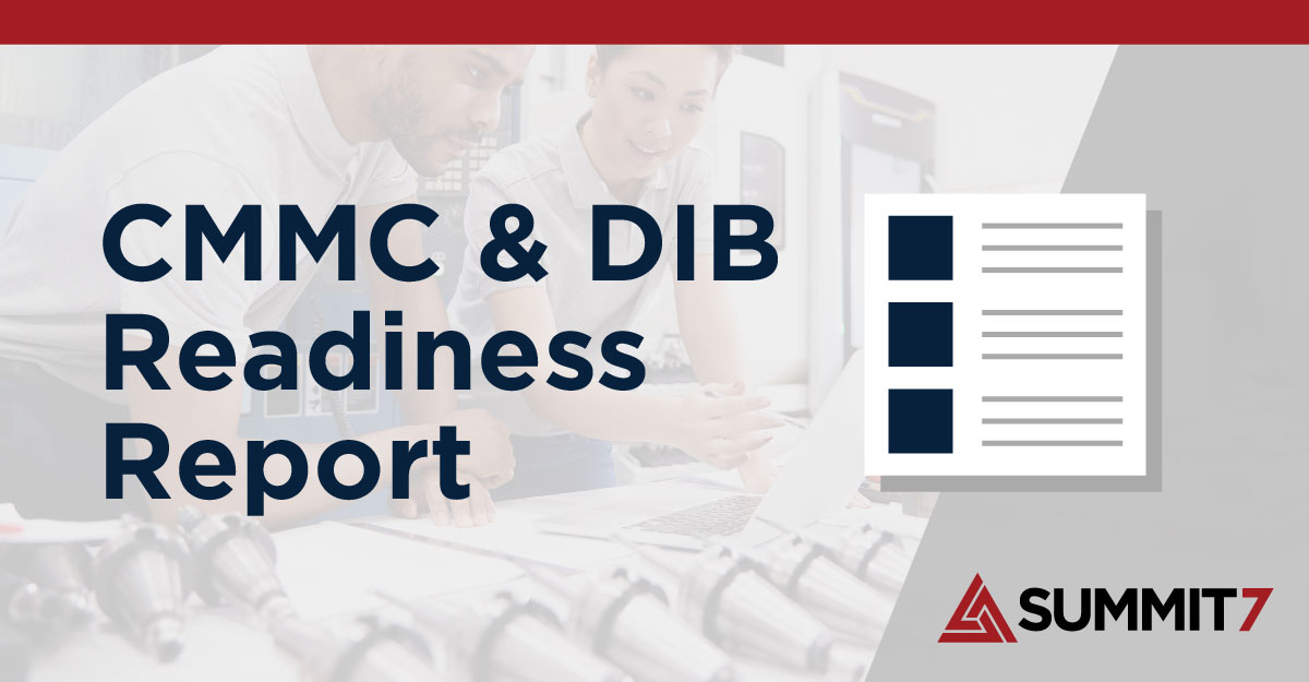 CMMC and DIB Readiness Report