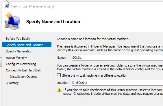 how to create image server
