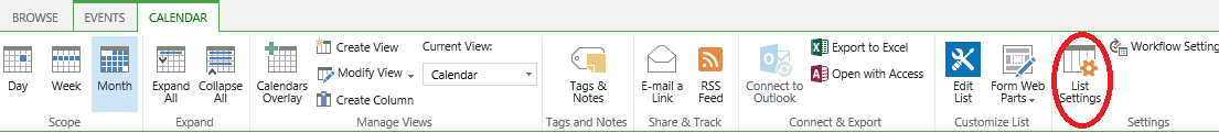 Color Code Calendar Events in SharePoint