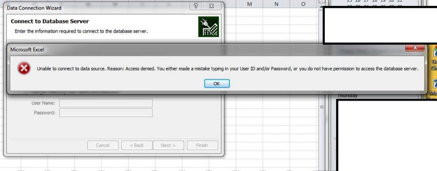 Resolving PowerPivot Kerberos / Permission Error