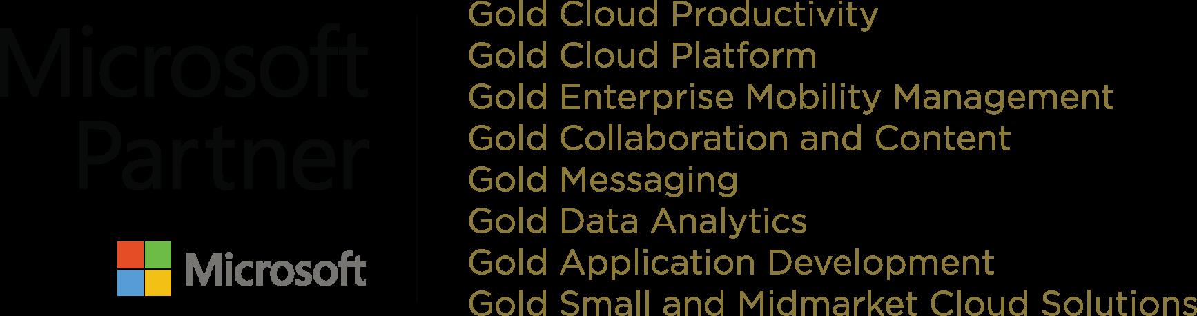 Microsoft Gold Competencies copy