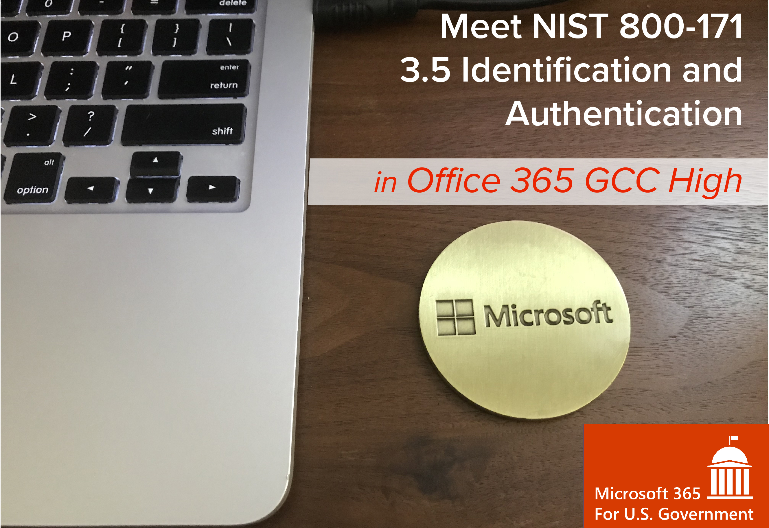 Meet NIST 800-171 3 5 Identification and Authentication in Office