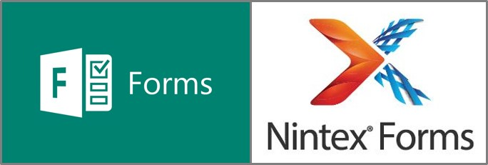 Compare and Contrast: Microsoft Forms in Office 365 and Nintex Forms - A Case for Both