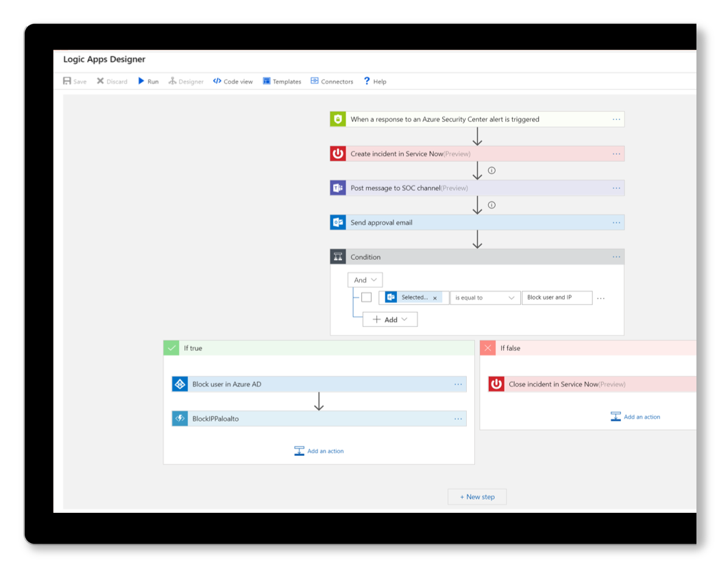 Automate alerts and triage process with Azure Sentinel