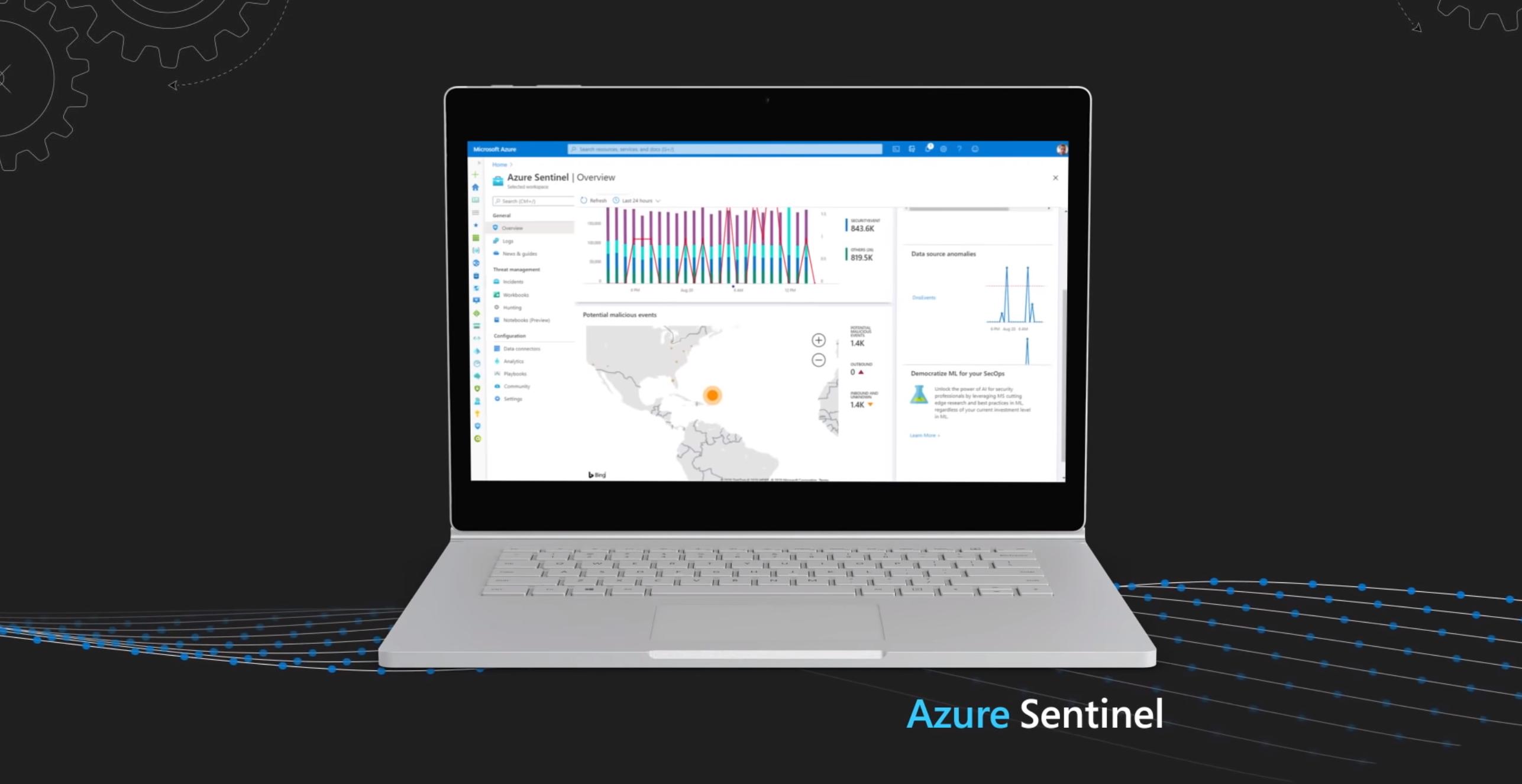 Azure Sentinel and Microsoft Defender Pair for CMMC